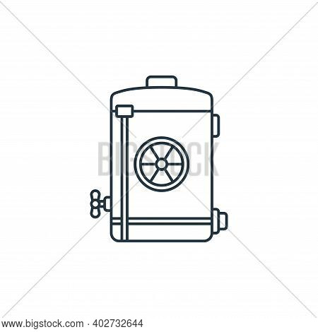 nuclear energy icon isolated on white background. nuclear energy icon thin line outline linear nucle