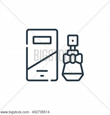perfume icon isolated on white background. perfume icon thin line outline linear perfume symbol for