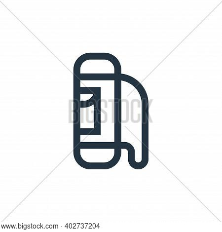 bag icon isolated on white background. bag icon thin line outline linear bag symbol for logo, web, a
