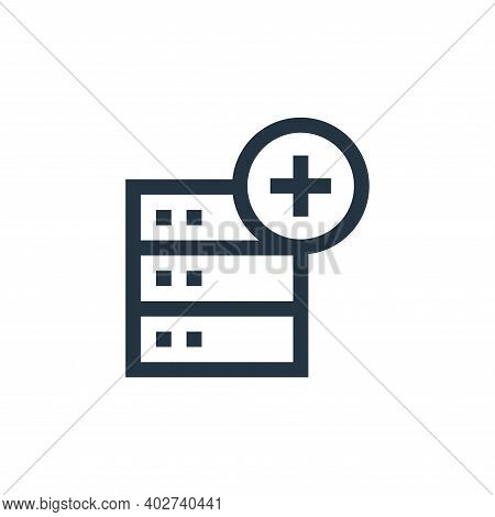 remove icon isolated on white background. remove icon thin line outline linear remove symbol for log