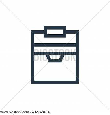 cooler icon isolated on white background. cooler icon thin line outline linear cooler symbol for log