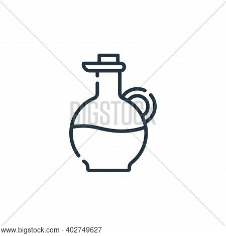 olive oil icon isolated on white background. olive oil icon thin line outline linear olive oil symbo