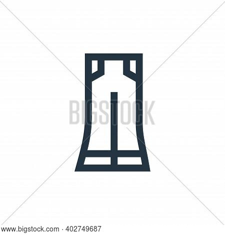 bell icon isolated on white background. bell icon thin line outline linear bell symbol for logo, web