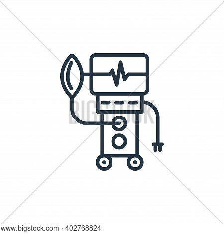 ventilation icon isolated on white background. ventilation icon thin line outline linear ventilation