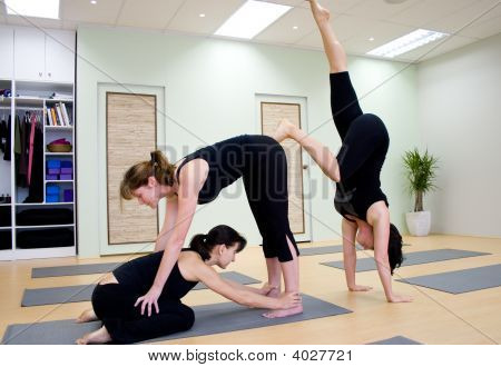 Group Of Yoga
