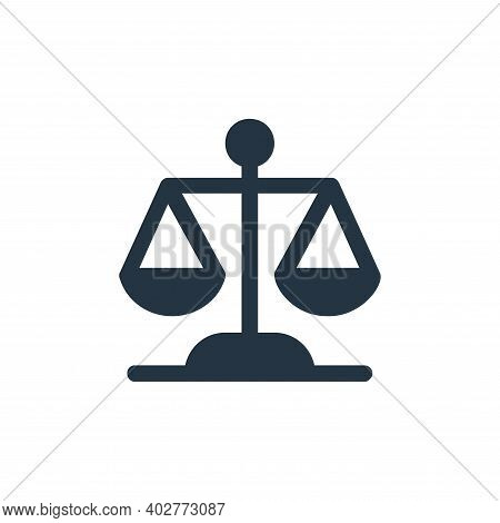 law icon isolated on white background. law icon thin line outline linear law symbol for logo, web, a