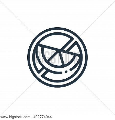 citrus icon isolated on white background. citrus icon thin line outline linear citrus symbol for log