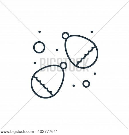 water balloons icon isolated on white background. water balloons icon thin line outline linear water