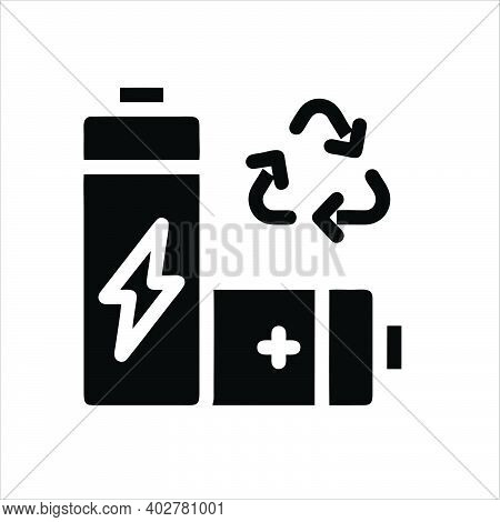 Fast Battery Charger Icon. Outline Fast Battery Charger Vector Icon For Web Design Isolated On White