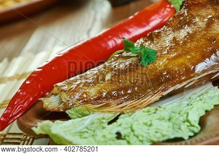 Bourgeoisie Grille - Grilled Red Snapper,  Fish Specialty On The Seychelles Islands