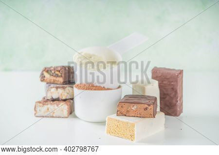 Protein Powder, Cocktail And Bars