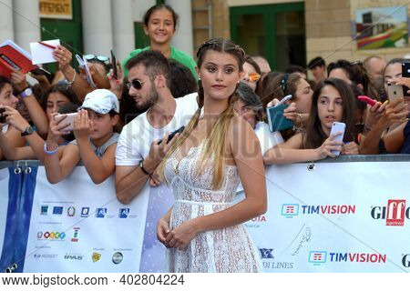 Giffoni Valle Piana, Sa, Italy - July 26, 2019 : Jenny De Nucci At Giffoni Film Festival 2019 - On J