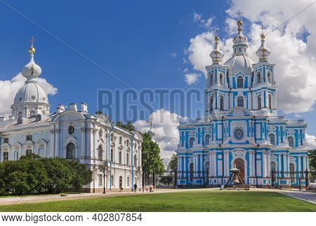 Smolny cathedral - St. Petersburg Russia