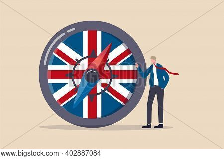 Uk, United Kingdom Economic Direction After Brexit Deal, Business Agreement And Policy To Drive Engl