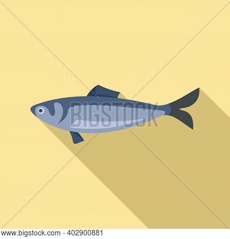 Swedish Fish Icon. Flat Illustration Of Swedish Fish Vector Icon For Web Design