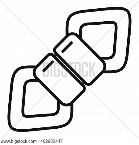 Industrial Climber Tool Icon. Outline Industrial Climber Tool Vector Icon For Web Design Isolated On