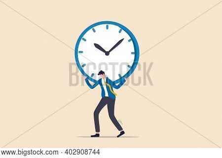 Time Management Failure, Freedom To Spend Time With Family And Loved One, Overworked Or Office Worke