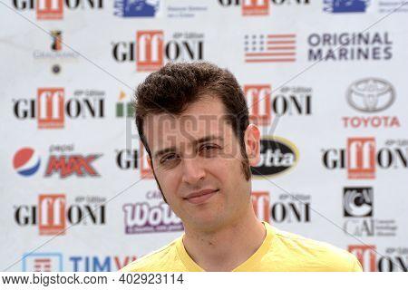 Giffoni Valle Piana, Sa, Italy - July 21, 2019 : Fulvio Risuleo At Giffoni Film Festival 2019 - On J
