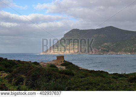 View Of Tower Torre Bantine E Sale  In The Porto Ferro Coast