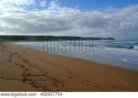 View Of Porto Ferro Beach, Sassari, Sardinia
