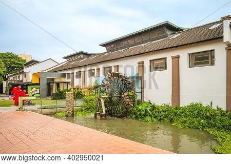 December 20, 2020: Taliwu Cultural Park, Aka Taliwu Shimmering Lawn Village, Located At Dounan, Yunl