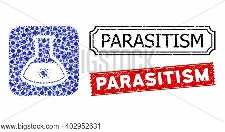 Vector Mosaic Virus Analysis Retort And Grunge Parasitism Seals. Mosaic Virus Analysis Retort Design