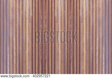 Rusty Old Galvanized Fence Texture And Seamless Background