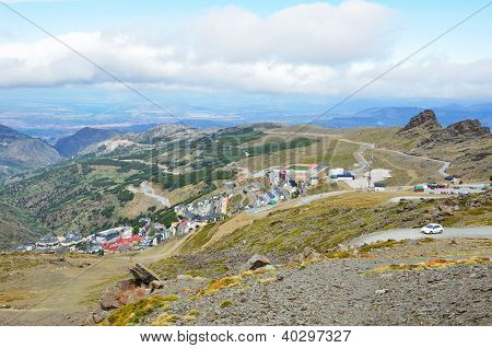 Ski Resort Pradollano In Spring