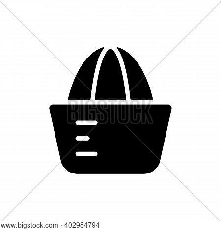 Lemon Squeezer Vector Glyph Icon. Kitchen Appliance. Graph Symbol For Cooking Web Site Design, Logo,