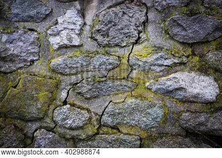 Old stone wall abstact background