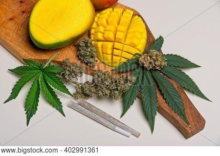 Cannabis And Mango