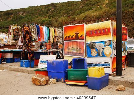African Street Market