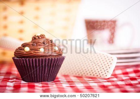 Picnic And Cupcake