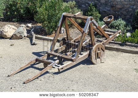 Catapult In The Medieval