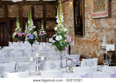 Wedding Reception Interior