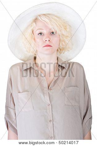 Rigid Lady In Brown
