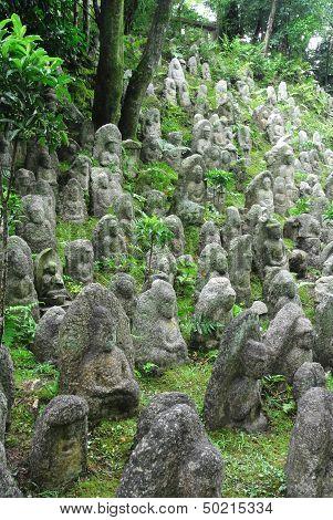 Minature Buddha Statues