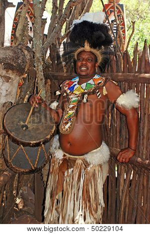Zulu Drummer