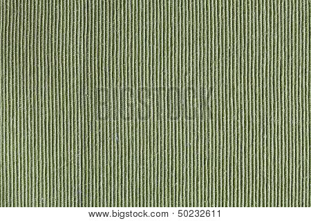 Corrugated Background Or Texture Green