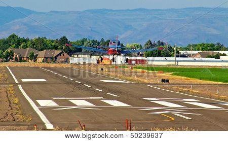 Approaching Touchdown Burley, Idaho
