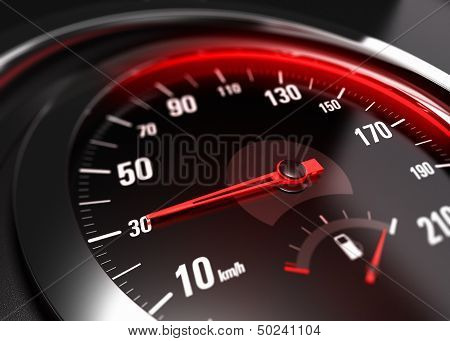 Reducing Speed Safe Driving Concept - 30 Km H