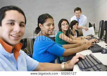 High School Computer Class