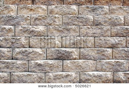 Brick Paver Wall