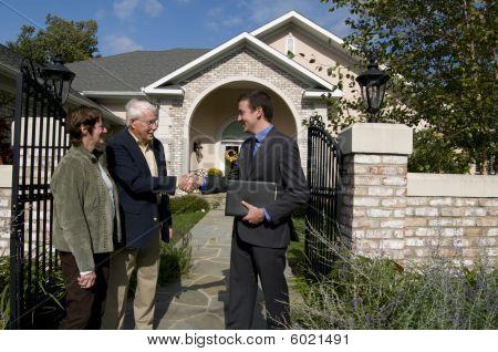 Senior Käufer von Eigenheimen