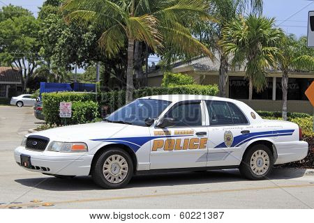 Wilton Manors Police Car