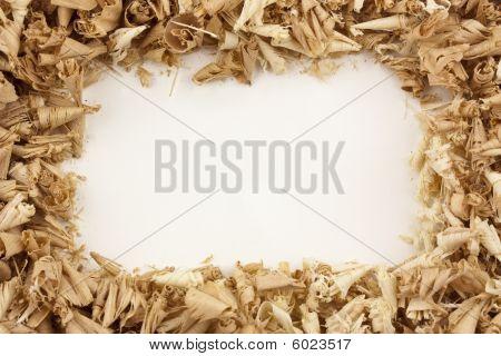 Wood Shavings Frame