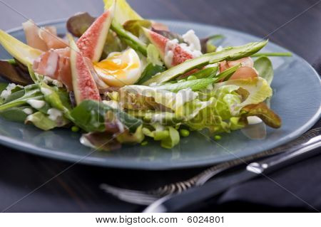 Prosciutto And Fig Salad With Aioli