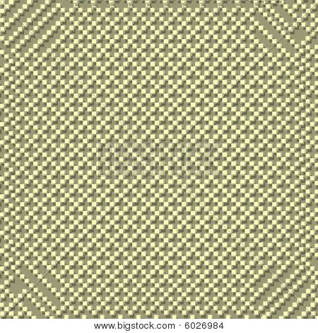 Many squares with shadows on green background texture poster