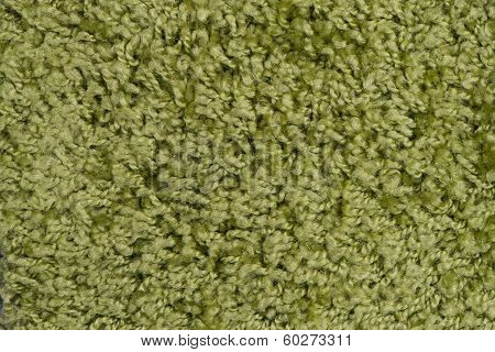 Green Carpet Or Mat