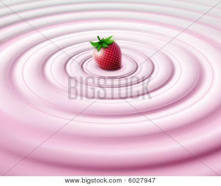 Strawbery cream